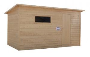 Хозблок деревянный